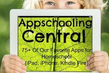 Homeschool: Digital Learning / Articles and links for helpful homeschooling digital resources, apps (education, organization, scheduling, etc.) and web sites.