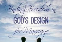 Marriage / Pins to strengthen and encourage Christian women in their marriage relationship.