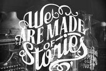Typography / Words