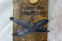SCRAPBOOKING TIM HOLTZ IDEAS / Creations made with Tim Holtz materials. / by Judy