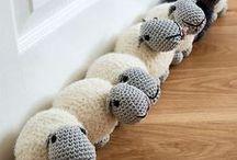 Knit Crochet / Hooks, needles, and yarn