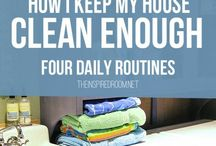 Organization and Natural Cleaning Tips