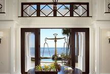 Ideas for Indoor/Outdoor room remodel / goal:  convert the garage to a multipurpose room that relates and opens to outdoors, and design the Veranda and patio area in outdoor living spaces / by Jan Womble