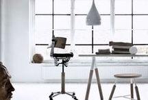 Office / office, home office, work space, working area, work environment, kontor, kontorplads / by Malene Marie Møller