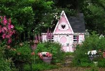 garden sheds/gardens