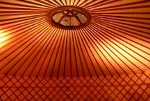 Yurt Love / I WILL have a yurt on our property someday.
