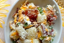 Recipes - Salads / Just right for the summer picnics or to take to the neighbors in friendship
