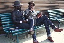 For the Wear / Mostly Bohemian men's fashion with a sprinkle of urban businessman. In the hotter months, I tend to lean towards southern prep with a little bit of motörhead influence. / by Taj Turner