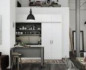 LIVING : Factory / Factory, vintage home decor