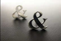 Ampersands (Typography) / Board devoted to #typography and the ampersand (&) character. #design / by Carrie Cousins