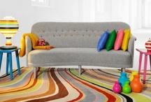 Rainbow Colors in Living Room, Bed Room, Kids Room