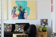Living Room/Dining Room - A piece of art