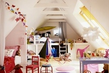 Sleeping Room or Working Room in the attic