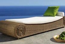 Bamboo outdoor furniture