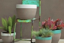 Earthenware pots