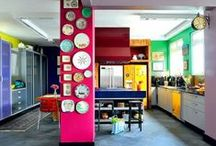 Funky Kitchens