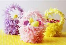 DIY Easter paper baskets