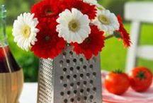 Red Flower Decoration