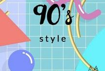9 0 s / Styling or outfit inspiration for those who love 90's fashion. For women.