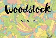 w o o d s t o c k / Styling or outfit inspiration for those who love the Woodstock or Coachella vibe. Hippie + music + dynamic + psychedelic. For women.