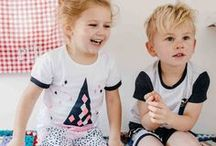Kid's Pyjamas. / Perfect range of pjs from Milky and Marquise to keep your children cosy and warm.