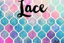 l a c e / I like my lace black and white. For the love of everything lace. Inspirations for women.