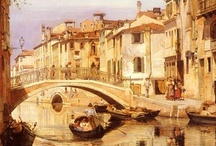 Venice, Italy / Pictures and paintings of Venice, Italy / by Angela Allyn