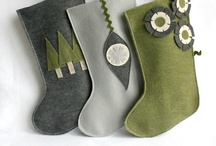 rikrak: what i make : eco friendly Holiday stockings / handmade modern, simple & eco friendly Christmas and Holiday decor (stockings, ornaments and more) for your happy home! great gift ideas for everyone in your lovely life!