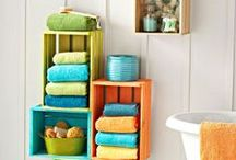 Bathroom Bliss / Bathroom storage and style is a beast of its own. Here are some suggestions.