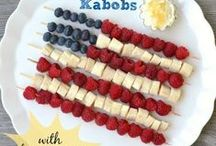 4th of July Recipes / Delicious recipe ideas to make celebrating the 4th of July even more festive