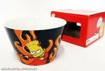 SIMPSONS mugs ❦ stemware ❦ bowls / SIMPSONS hrnčeky ❦ pohárov ❦ misky