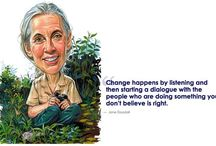 Jane Goodall / by Stephanie May