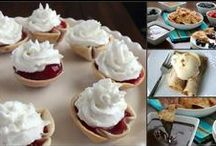 On the Sweet Side / Tortillas for dessert? Yup!  Try these recipes guaranteed to satisfy your sweet tooth! #Dessert #sweets