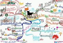 Mappe mentali / Le mappe mentali sono una tecnica che consente di associare in ordine gerarchico a un'idea centrale, più parole favorendo l'apprendimento e la memorizzazione.