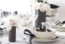 l Dining & Table settings l / Because everyone deserves Pinterest kind of a dinner <3