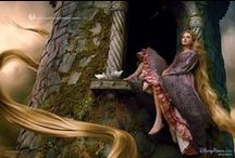 Lay Down Your Hair / Rapunzel, stuck in her tower and waiting for her Prince Charming to save her.