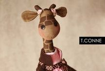 Soft Toys ~ Ideas & Inspiration / by Nittens & Patches