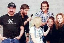 Supernatural: We Are Family / The Supernatural Cast are really a family who love each other and really enjoy being with one another, on and off the set.