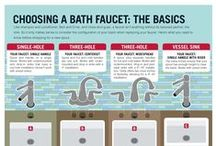Home Reno Tips & Inspiration / Before you start a #renovation in your home check out these tips from what you need to ask your #contractor to how to pick a #faucet. #DeltaFaucet #DeltaFaucetInspired