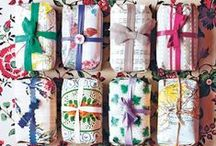 Gift wrapping and packing ideas / Wrap decoration, cute wrapping paper, details, homemade design... / by Vojvodjanska Frajla