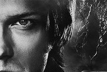 Sam Winchester: Black & White / Oh Sammy boy!