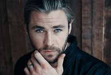 Chris Hemsworth / Can I get an AMEN for the man that is the God of Thunder…RAWR!