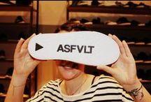ASFVLT SNEAKERS / Asfvlt est une marque de sneakers fraichement lancée sur le marché de la basket. Derrière ce projet passionnant, il y a un homme. Enfant de la rue, nourri à l'adrénaline de la glisse, le bitume l'a vu grandir. Puriste de la sneaker et particulièrement de la running, nous avons eu le plaisir de le rencontrer dans son appart/atelier/show room et il a levé le mystère sur Asfvlt. http://lesgarconsenligne.com/2014/05/30/beton-street-asfvlt-sneakers/
