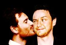 McFassy / McBender, McFassy or FassAvoy…call them what you want! Michael Fassbender and James McAvoy are wild things that have an epic friendship. They make my heart sing <3