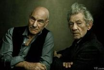 These Sirs / Sir Ian McKellen and Sir Patrick Stewart…need I say more!