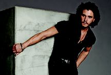 Kit Harrington / This man is so delicious. Can I keep him?