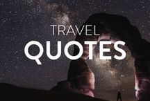 Inspirational Travel Quotes / Looking for inspirational travel quotes? Check out these beautiful quotes designed to pick you up and motivate you to keep living your life to the fullest. Vertical pins only!! For every pin you post, re-pin someone elses! Thank you!  Email me at anna@adventureinyou(.)com if you would like to join and collaborate!