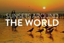 Sunsets around the world / Ever marveled at how beautiful each sunset is? Follow this board for amazing sunset images around the world