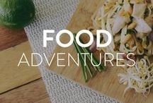 Food Adventures Around the World / Mouthwatering, delicious, and sometimes odd delicacies around the world.