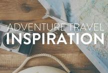 Adventure Travel Inspiration / A compilation of drool worthy photos of places around the world to provide you a bit of travel inspiration